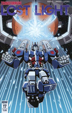 Transformers Lost Light #17 Cover B Variant Jack Lawrence Cover