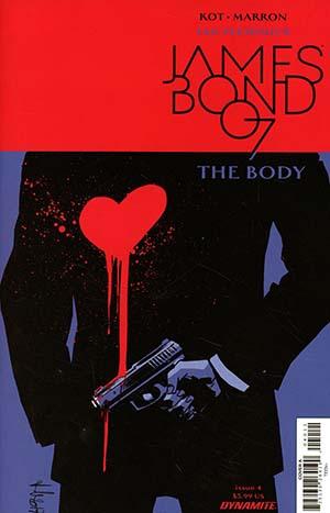 James Bond The Body #4 Cover A Regular Luca Casalanguida Cover