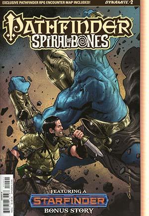 Pathfinder Spiral Of Bones #2 Cover B Variant Diego Galindo Cover