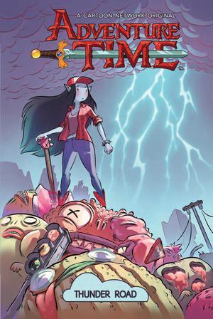 Adventure Time Original Graphic Novel Vol 12 Thunder Road TP