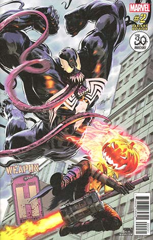 Weapon H #2 Cover B Variant Mike Mayhew Venom 30th Anniversary Cover