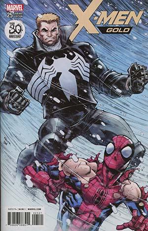 X-Men Gold #25 Cover B Variant Todd Nauck Venom 30th Anniversary Cover