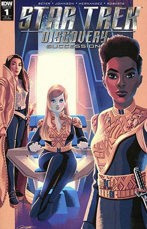 Star Trek Discovery Succession #1 Cover C Incentive George Caltsoudas Variant Cover