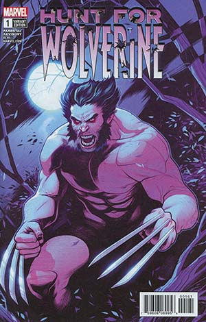Hunt For Wolverine #1 Cover E Incentive Elizabeth Torque Variant Cover