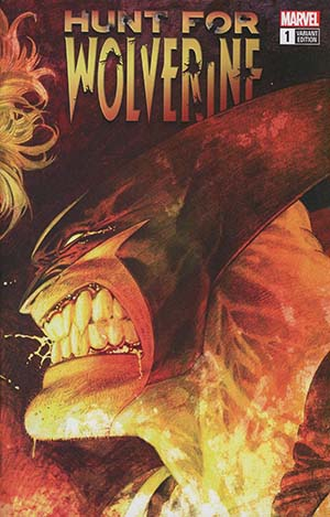 Hunt For Wolverine #1 Cover H Incentive Adam Kubert Remastered Wraparound Color Variant Cover