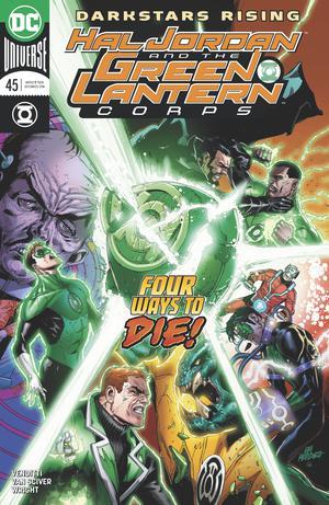 Hal Jordan And The Green Lantern Corps #45 Cover A Regular Doug Mahnke Cover