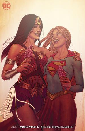 Wonder Woman Vol 5 #47 Cover B Variant Jenny Frison Cover