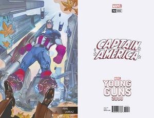 Captain America Vol 8 #702 Cover C Variant Pepe Larraz Young Guns Cover