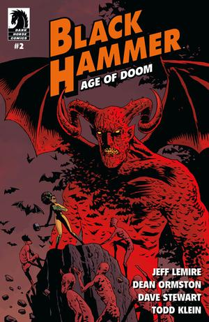 Black Hammer Age Of Doom #2 Cover A Regular Dean Ormston Cover