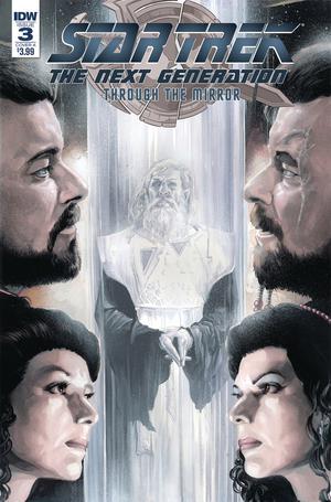 Star Trek The Next Generation Through The Mirror #3 Cover A Regular JK Woodward Cover
