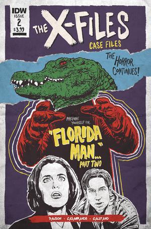 X-Files Case Files Florida Man #2 Cover B Variant JJ Lendl Cover
