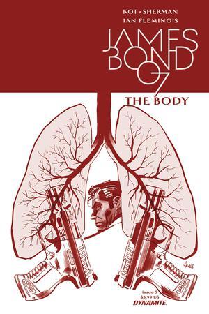 James Bond The Body #5 Cover A Regular Luca Casalanguida Cover