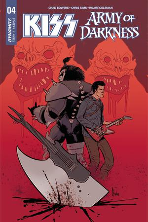 KISS Army Of Darkness #4 Cover A Regular Kyle Strahm Cover