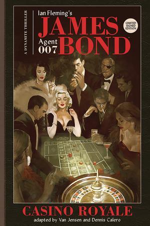 James Bond Casino Royale HC Signed Edition
