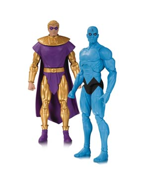 Doomsday Clock Ozymandias & Dr Manhattan 2-Pack Action Figure