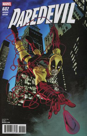 Daredevil Vol 5 #602 Cover B Variant Mike Perkins Deadpool Cover