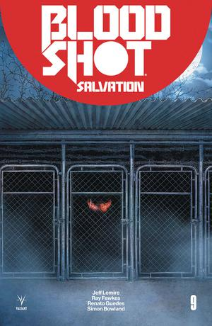 Bloodshot Salvation #9 Cover E Incentive Juan Jose Ryp Variant Cover