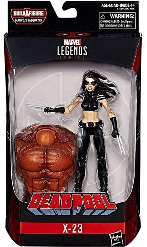 Deadpool 2 Legends 6-Inch Action Figure - X-23