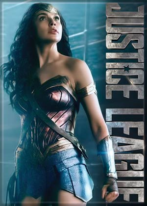 DC Comics 2.5x3.5-inch Magnet - Justice League Movie Wonder Woman Standing (72664DC)