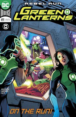 Green Lanterns #49 Cover A Regular Paul Pelletier & Danny Miki Cover
