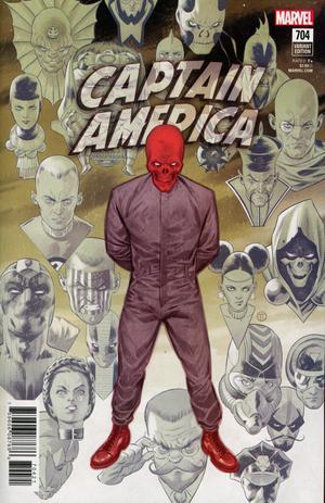 Captain America Vol 8 #704 Cover B Variant Julian Totino Tedesco Connecting Cover (4 Of 4)