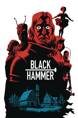 Black Hammer Age Of Doom #3 Cover B Variant Michael Cho Cover