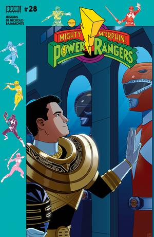 Mighty Morphin Power Rangers (BOOM Studios) #28 Cover B Variant Jordan Gibson Subscription Cover (Shattered Grid Part 3)