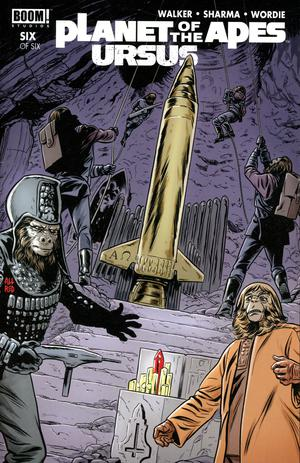 Planet Of The Apes Ursus #6 Cover A/B Regular Covers (Filled Randomly)