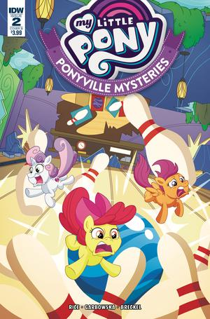 My Little Pony Ponyville Mysteries #2 Cover B Variant Philip Murphy Cover