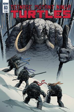 Teenage Mutant Ninja Turtles Vol 5 #83 Cover A Regular Dave Wachter Cover