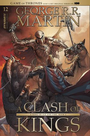 Game Of Thrones Clash Of Kings #12 Cover A Regular Mike Miller Cover