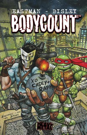 Teenage Mutant Ninja Turtles Bodycount HC