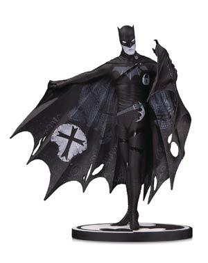 Batman Black & White Series Original Mini Statue By Gerard Way