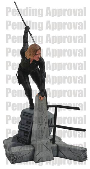 Marvel Movie Gallery Avengers Infinity War Black Widow PVC Statue