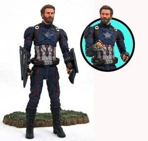 Marvel Select Avengers Infinity War Captain America Action Figure