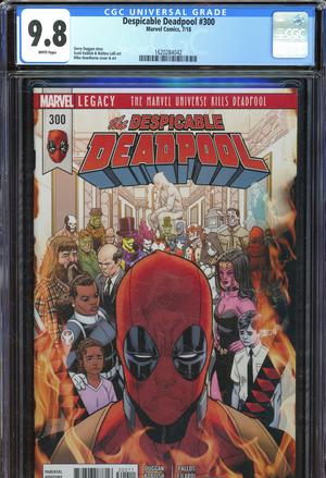 Despicable Deadpool #300 Cover G DF CGC Graded