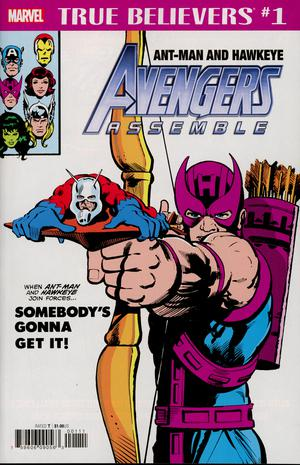 True Believers Ant-Man And Hawkeye Avengers Assemble #1