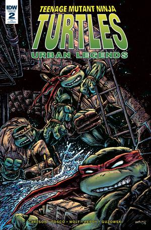 Teenage Mutant Ninja Turtles Urban Legends #2 Cover C Incentive Kevin Eastman Variant Cover