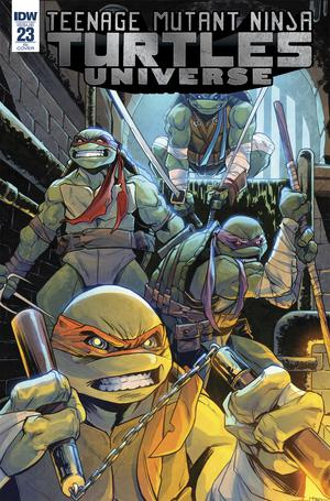 Teenage Mutant Ninja Turtles Universe #23 Cover C Incentive Marco Itri Variant Cover