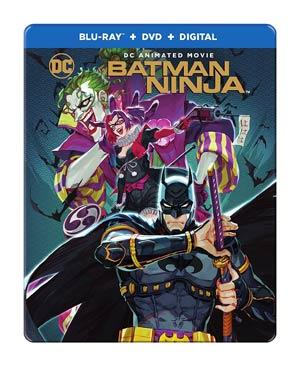 Batman Ninja Steelbook Blu-ray DVD