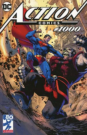 Action Comics Vol 2 #1000 Cover K Variant Jim Lee Tour Cover