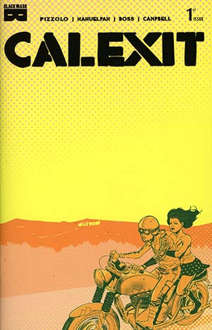 Calexit #1 Cover E 4th Ptg Variant Amancay Nahuelpan Cover