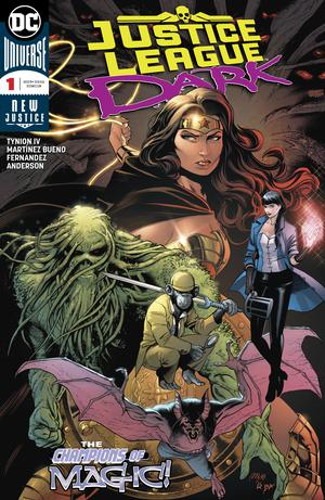 Justice League Dark Vol 2 #1 Cover A Regular Alvaro Martinez Bueno & Raul Fernandez Cover