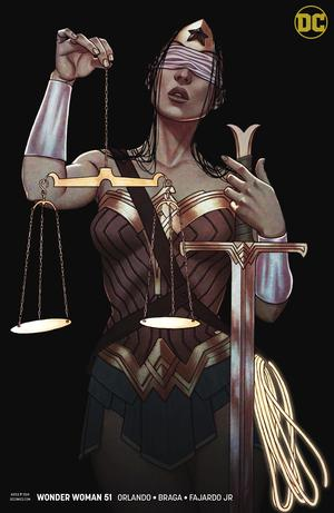 Wonder Woman Vol 5 #51 Cover B Variant Jenny Frison Cover