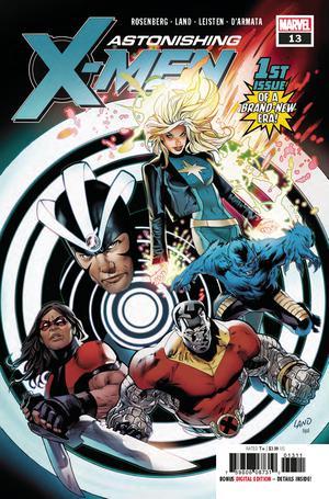 Astonishing X-Men Vol 4 #13 Cover A Regular Greg Land Cover