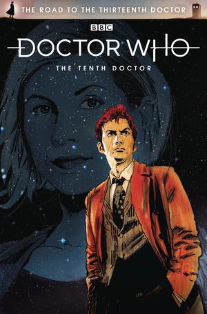 Doctor Who Road To The 13th Doctor #1 10th Doctor Cover A Regular Robert Hack Cover