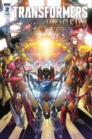 Transformers Unicron #2 Cover A 1st Ptg Regular Alex Milne Cover