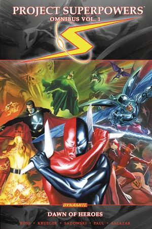 Project Superpowers Omnibus Vol 1 Dawn Of Heroes TP