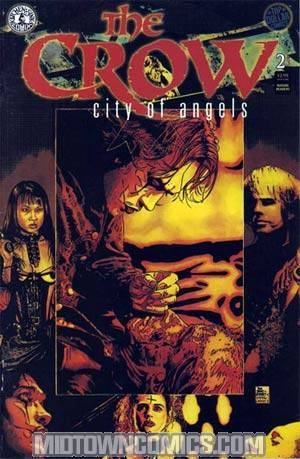Crow City Of Angels #2 Art Cvr