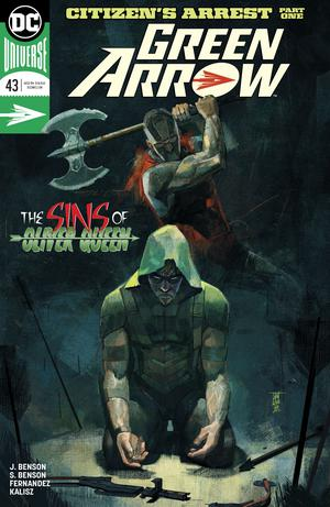 Green Arrow Vol 7 #43 Cover A Regular Alex Maleev Cover
